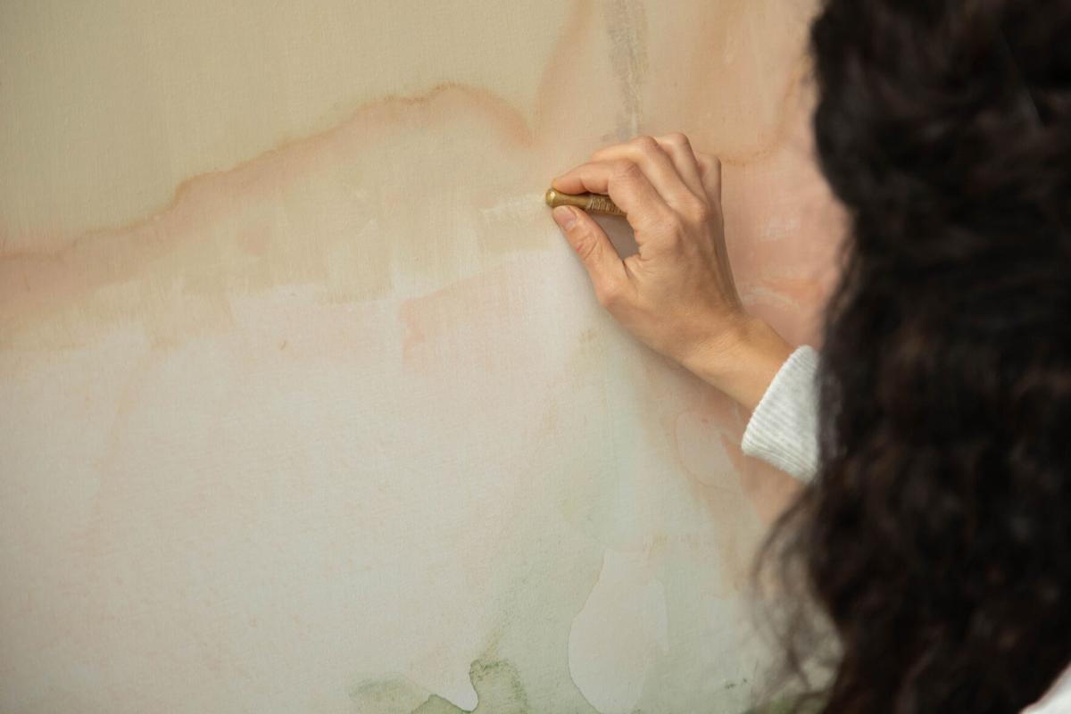 An artist's hand, Gabi Torres