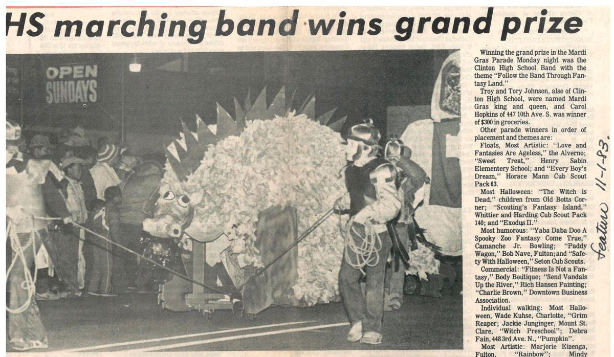 CHS marching band wins grand prize 1