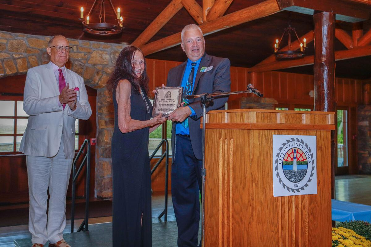 Walk of Fame induction, Francis Boggus, Linda Luckstead, Gary DeLacy