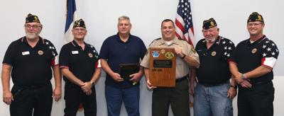 Reyhons awarded for service