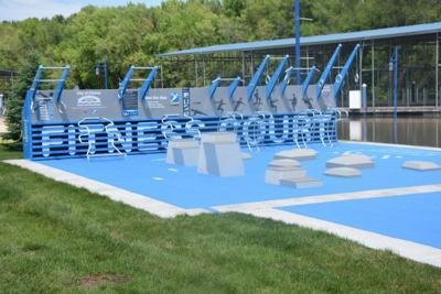 Clinton's fitness court is first of its kind in Iowa
