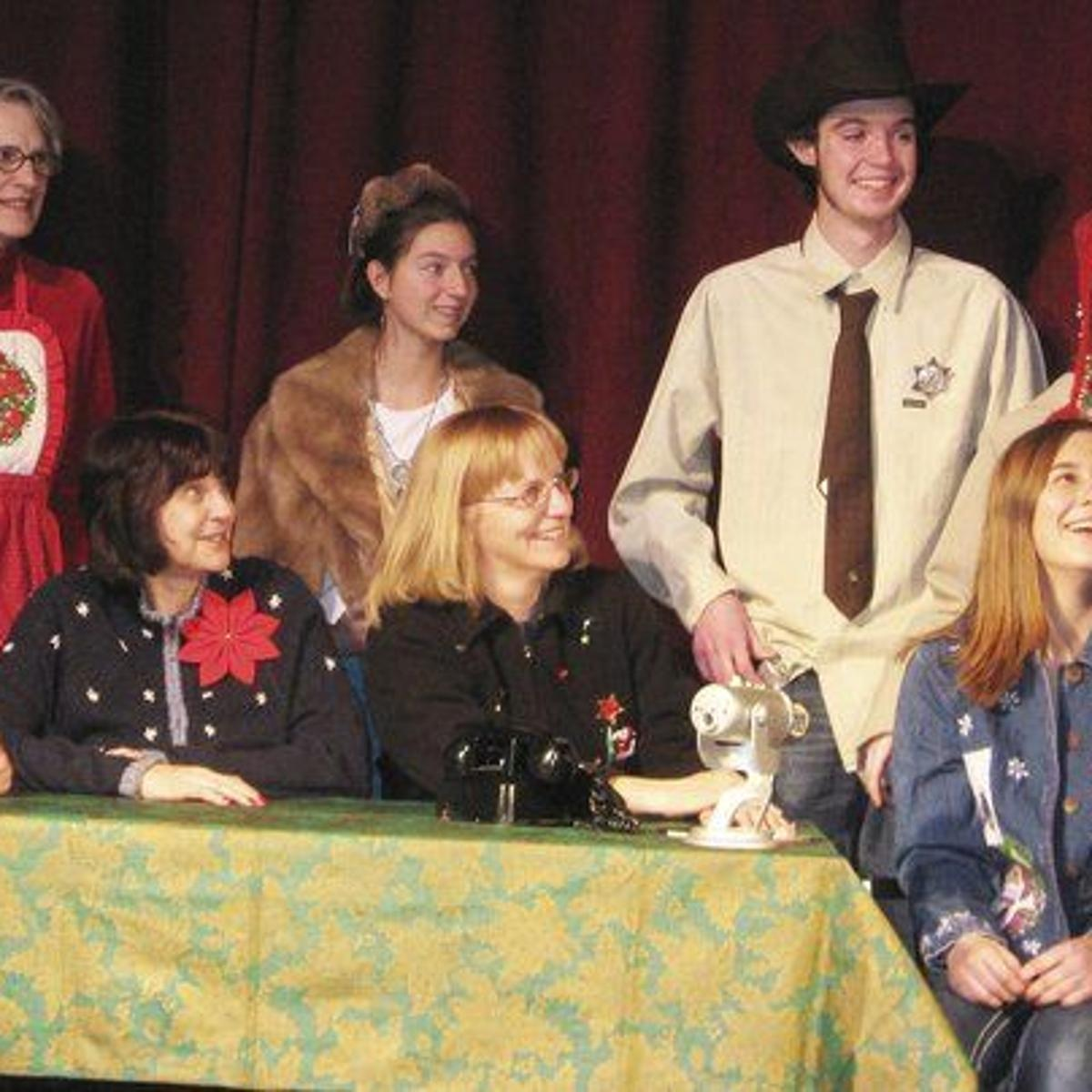 Sharing Christmas Cast.Cast To Offer Production Of Christmas Belles News