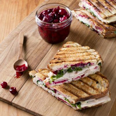 Turn smoked turkey and melty cheddar into an inspired lunch