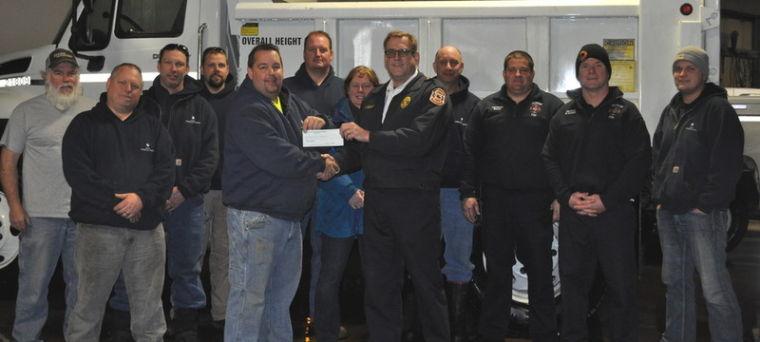 Fire department grant