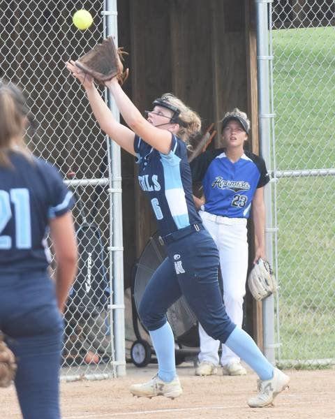 Northeast softball gets breakout game, Rebels sweep