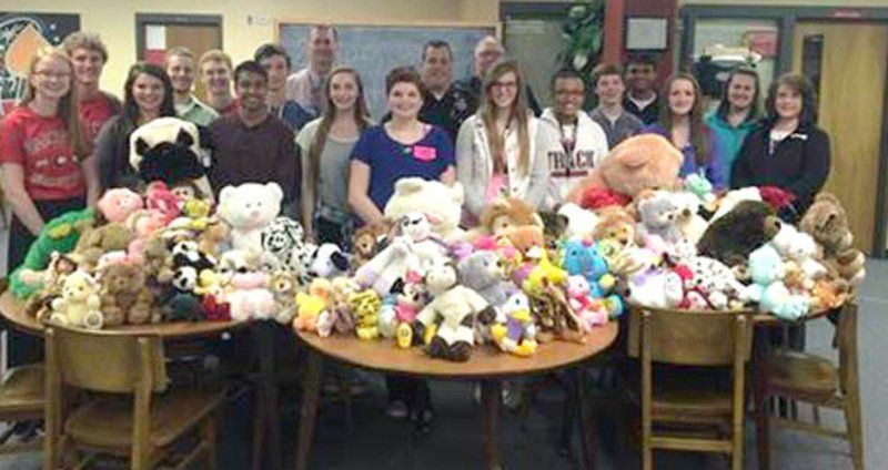 Service project aims at helping children