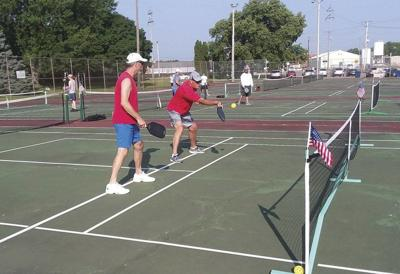 RCTA tennis, pickleball active in heat