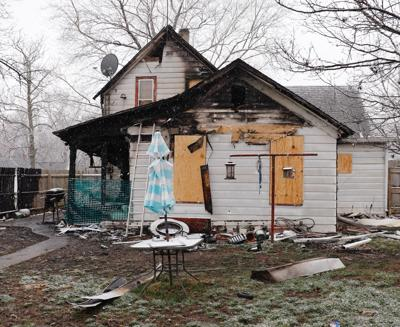 House at 2309 N. Ninth St. destroyed by fire