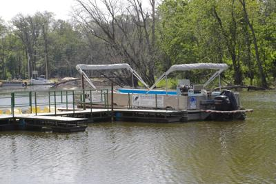 Rock Creek Park, Blue Heron pontoon