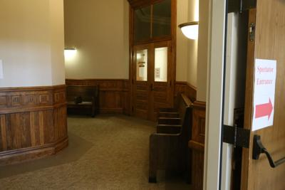clinton courthouse hallway