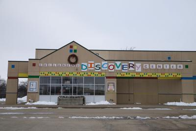 discovery center, winter