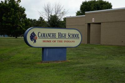 sign, camanche high school