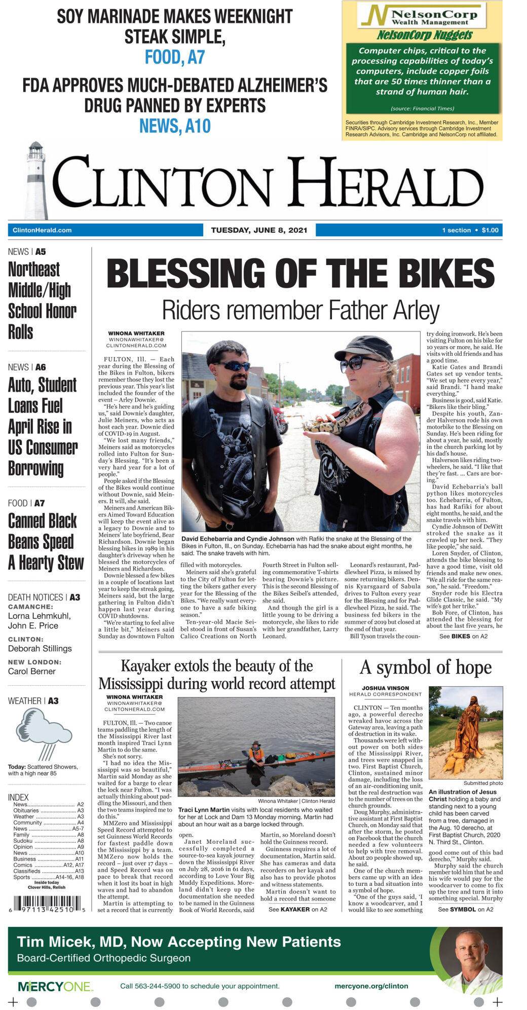 June 8, 2021 Front page