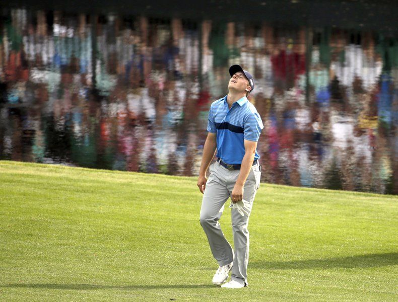 Spieth flirts with Masters record