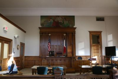 clinton courthouse courtroom