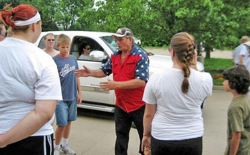 Cancer takes 'Flagman' off the road