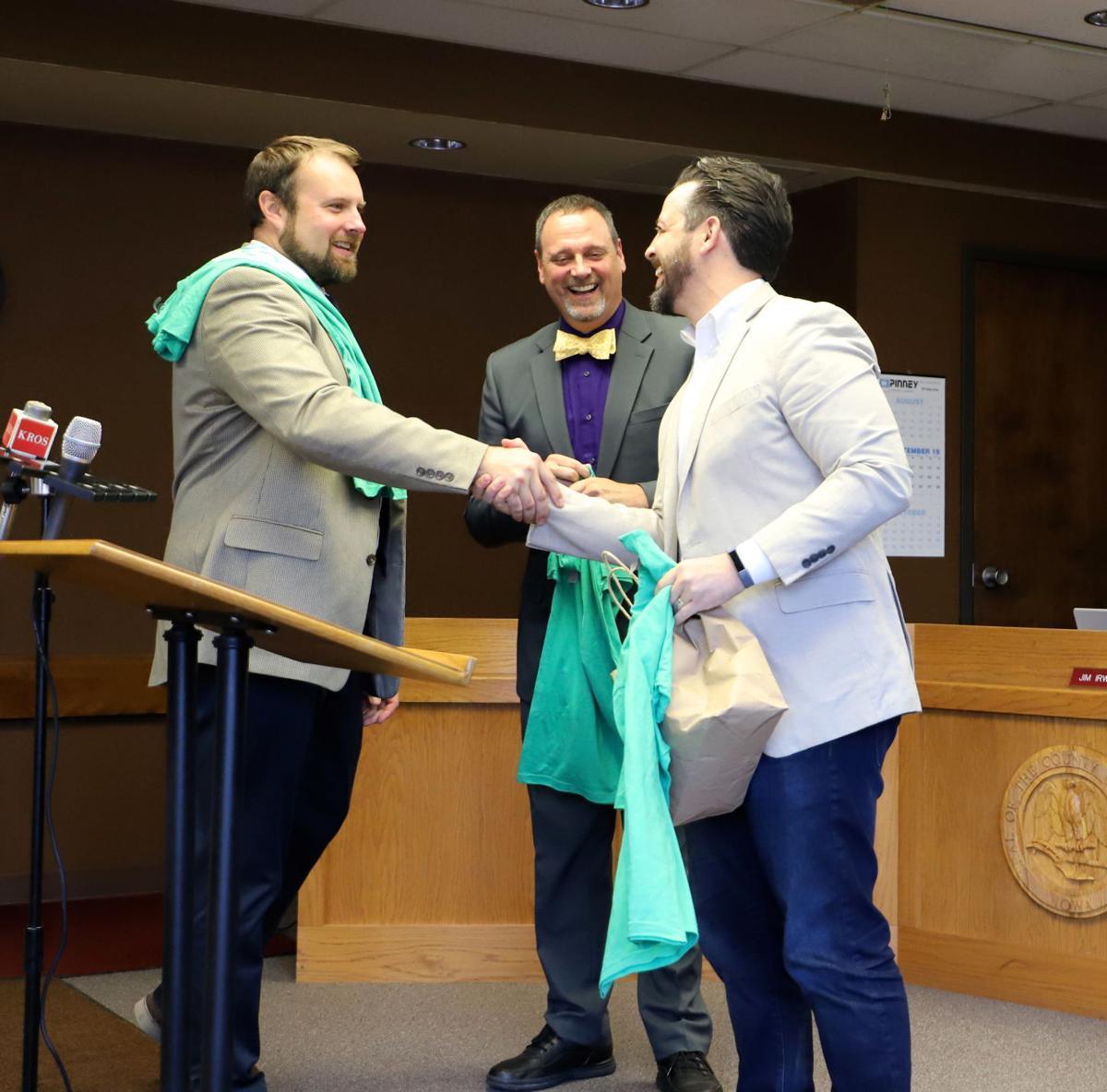Andy Sokolovich, Eric Van Lancker and David Aronson of Peanut Butter