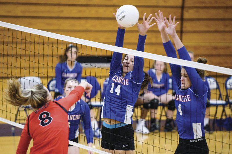 Indians sweep RVC matches
