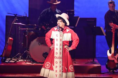 Felicia Finley stars at Patsy Cline in the Timber Lake Playhouse