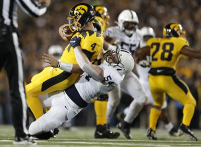 Penn St Iowa Football