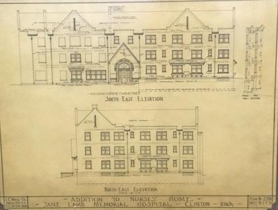 HISTORY IN THE HEADLINES: Blueprints show a lasting legacy