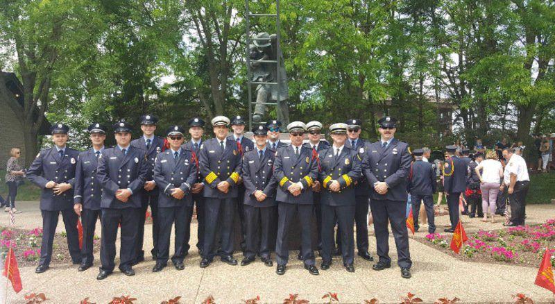 Hosette honored at Fallen Firefighter Memorial Ceremony