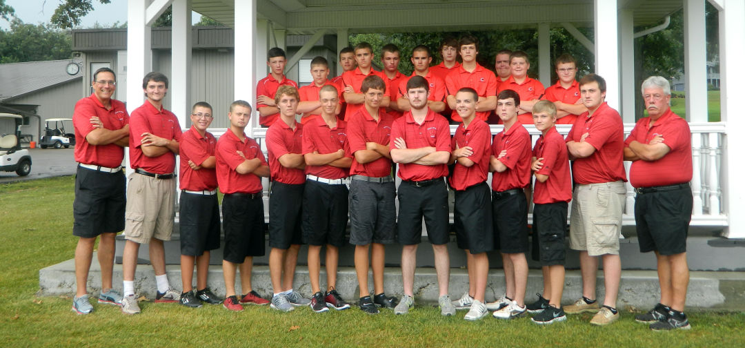 2014 Boys Golf