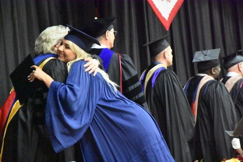 College says farewell to 195 graduates