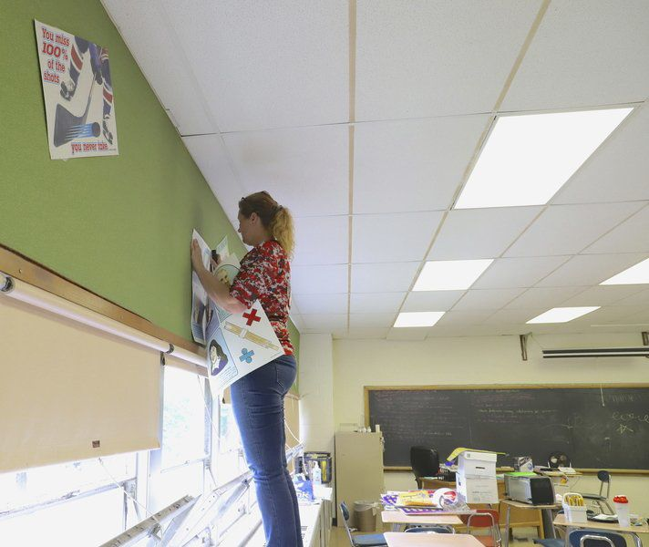 Staff readies Gateway Learning Center for first day of school
