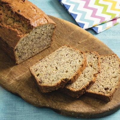 Dress up banana bread with nuts, spices, chocolate