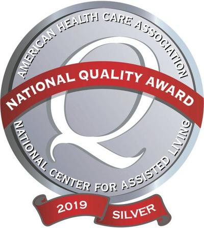 Resthave Care & Rehabilitation earns Silver National Quality Award