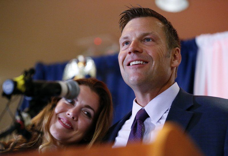 Kobach's take-no-prisoners style at forefront in Kansas race