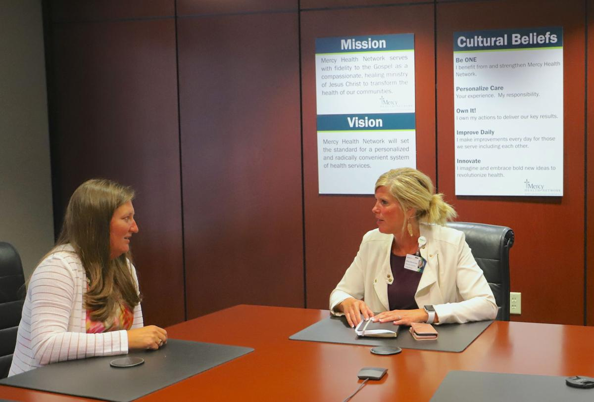 Michelle Waltz and Amy Berentes, MercyOne Clinton