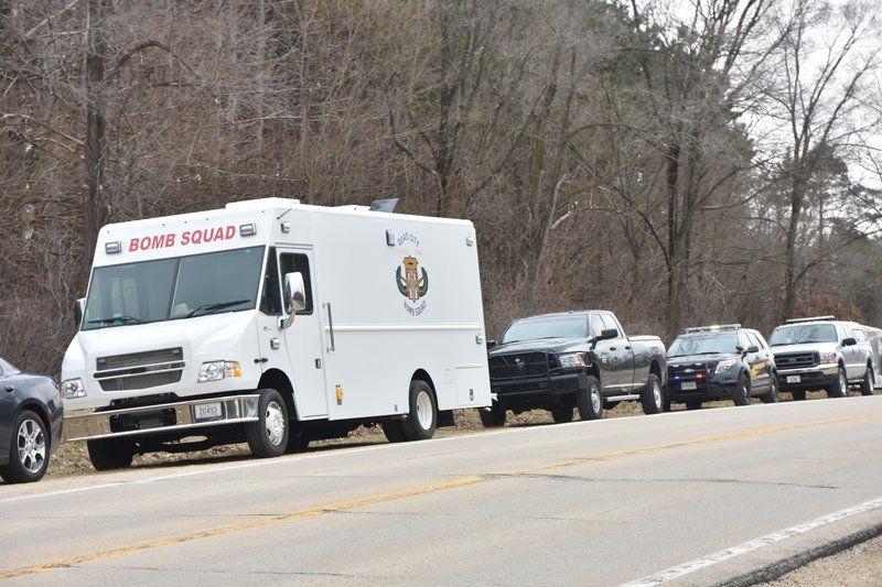 Heavy police presence set up in rural Whiteside County