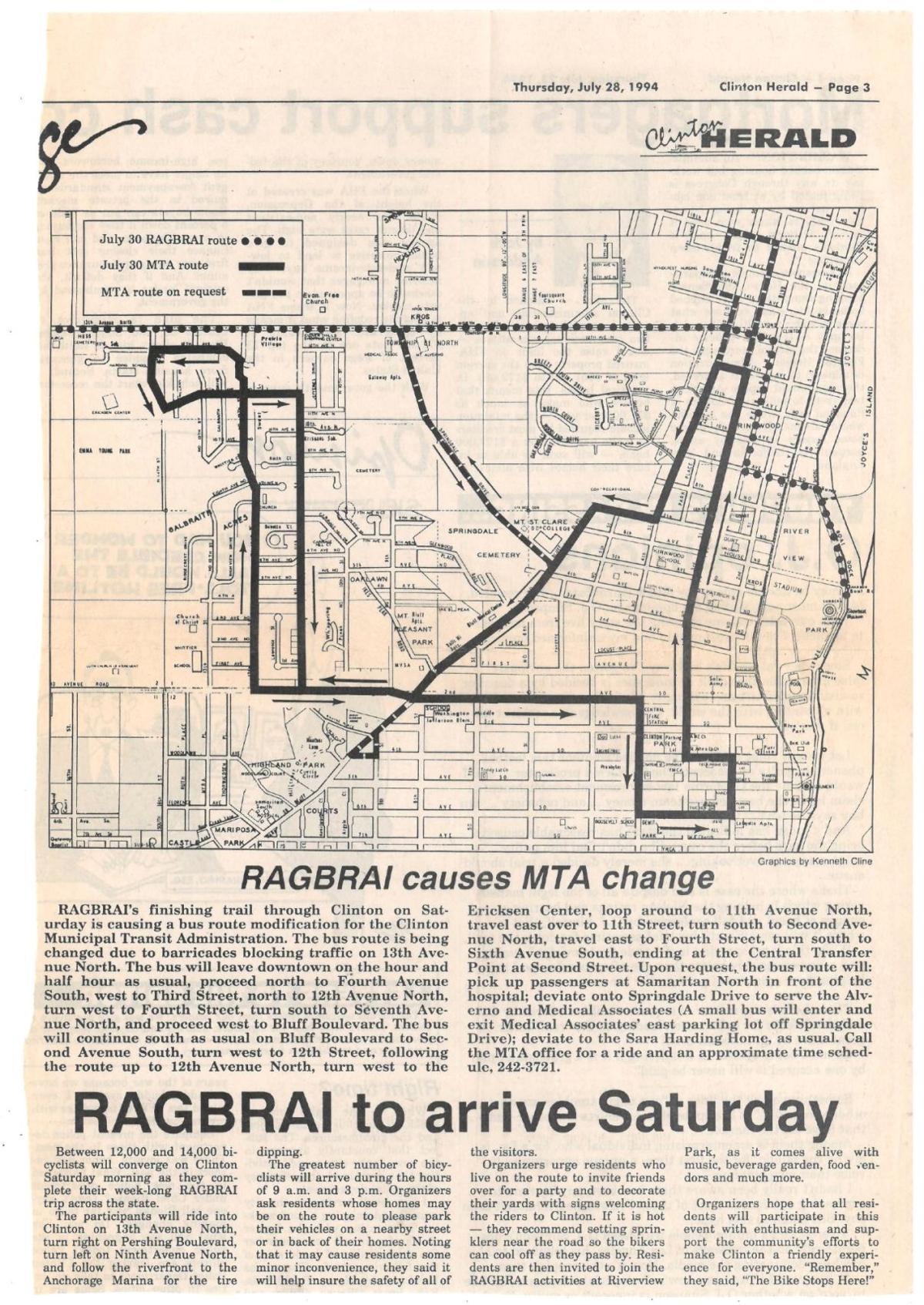 RAGBRAI 1994