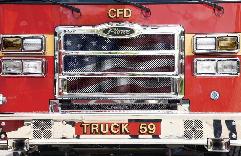Let it roll: Fire department ready to launch new truck