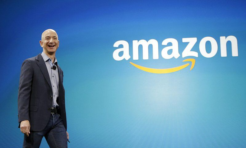 Amazon is 2nd US company to reach $1 trillion market value
