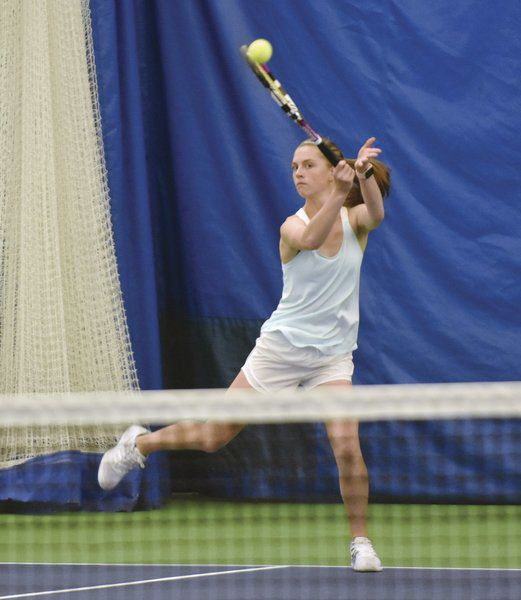 Queens end tennis season at state