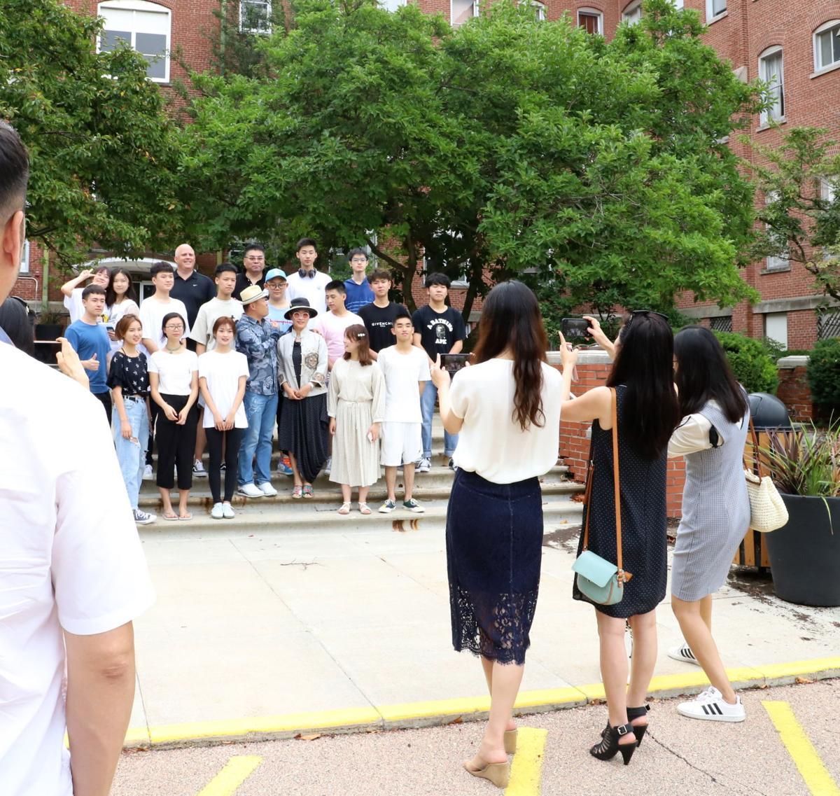 Pangaea International Academy students