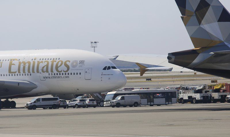 Jet quarantined in New York after reports of sick passengers