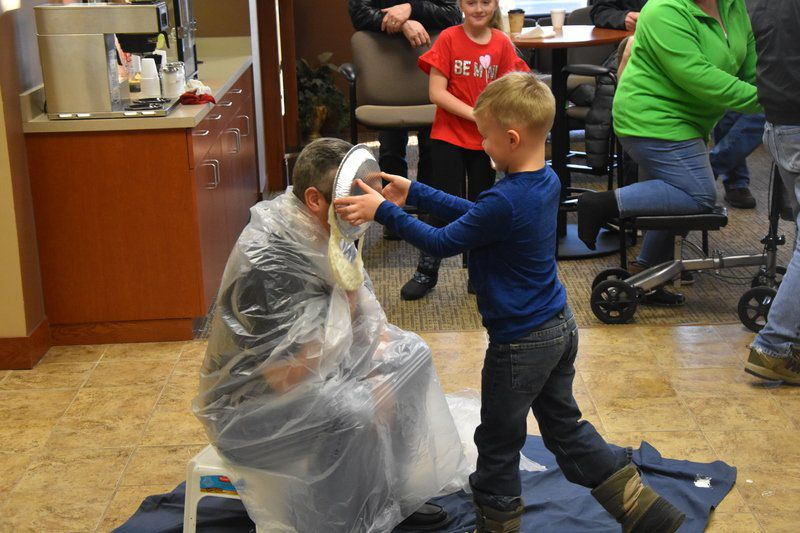 Credit Union employees get messy for money