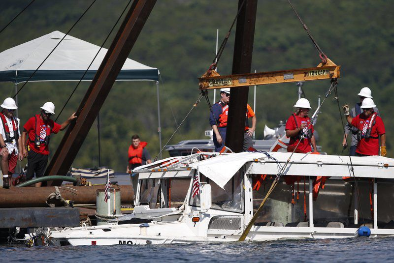 Duck boat probe will check if Coast Guard rules were ignored