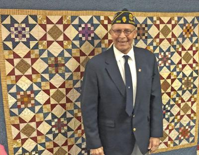 Morrison veteran honored with Quilt of Valor