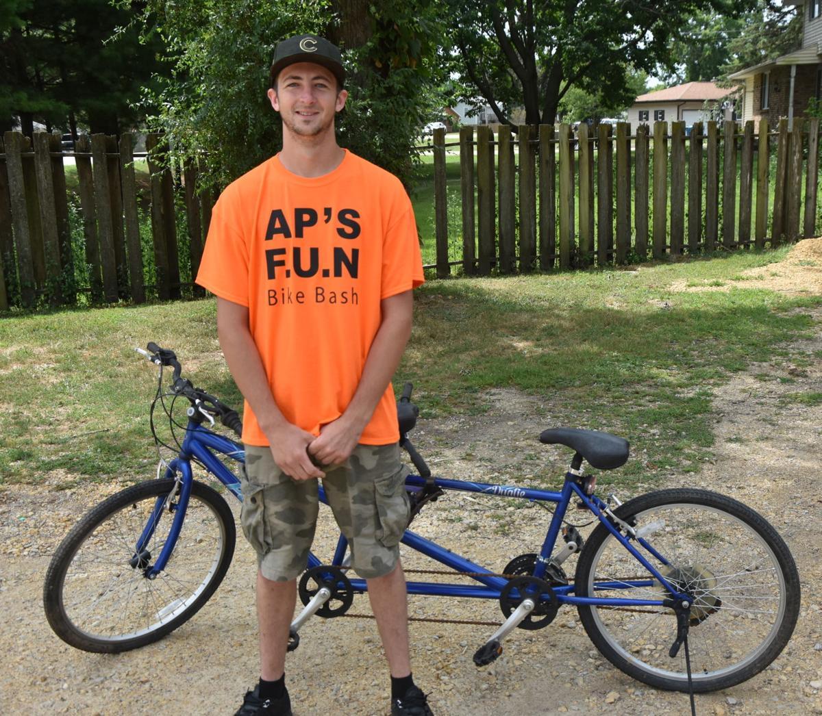 Austin Pruett, AP's Bike Bash in Camache