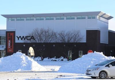 piles of snow by YWCA