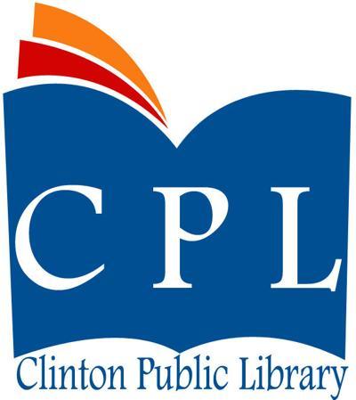 Clinton Public Library logo