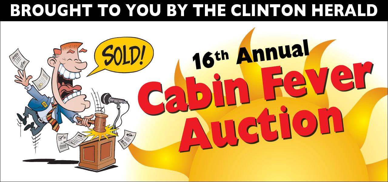 Cabin Fever Auction | Site | clintonherald com