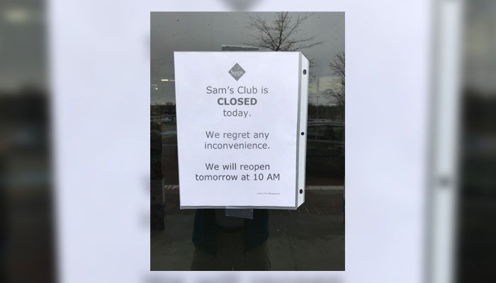 Sam's Club closing 63 stores around the country