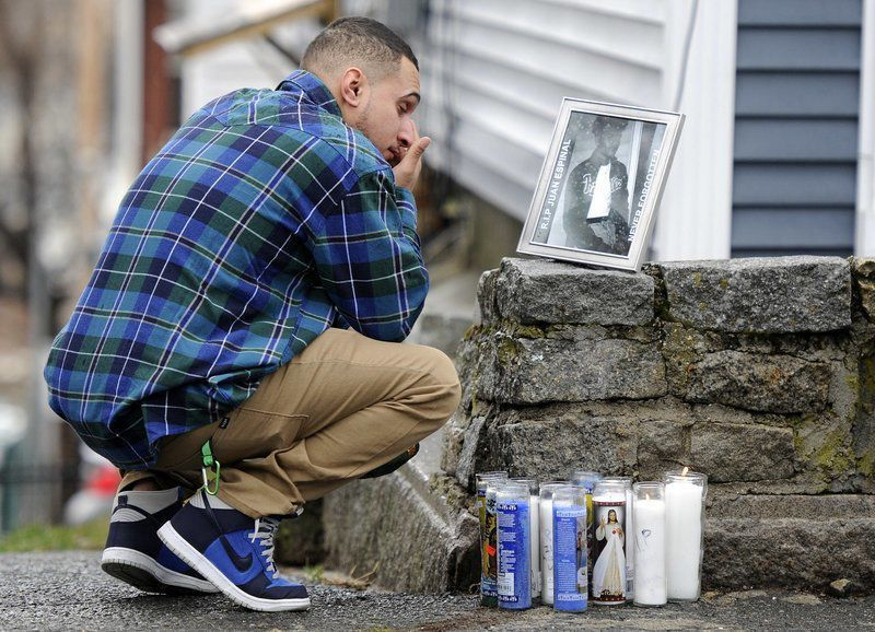 Third gang-related killing in six months puts Massachusetts city on