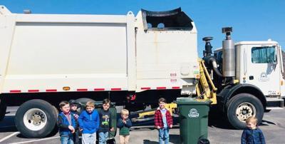 Alabama boy gets birthday visit from favorite garbageman